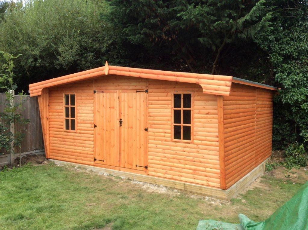 Bespoke sheds in essex k s sheds ltd for Garden shed essex