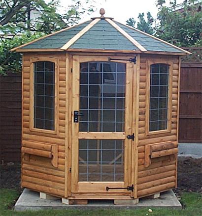 Octagonal Summer Houses In Essex K Amp S Sheds Ltd