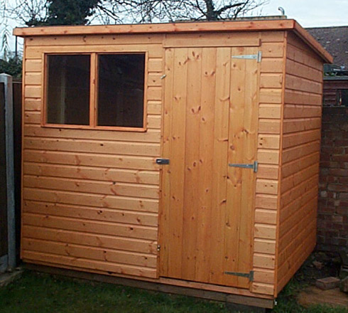 Pent Sheds In Essex Sheds Ltd