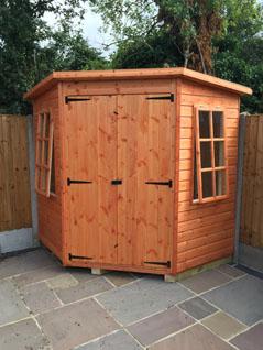 Pent sheds in essex sheds ltd for Garden shed essex