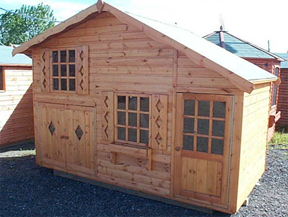 Wooden Play Houses In Essex Ks Sheds Ltd